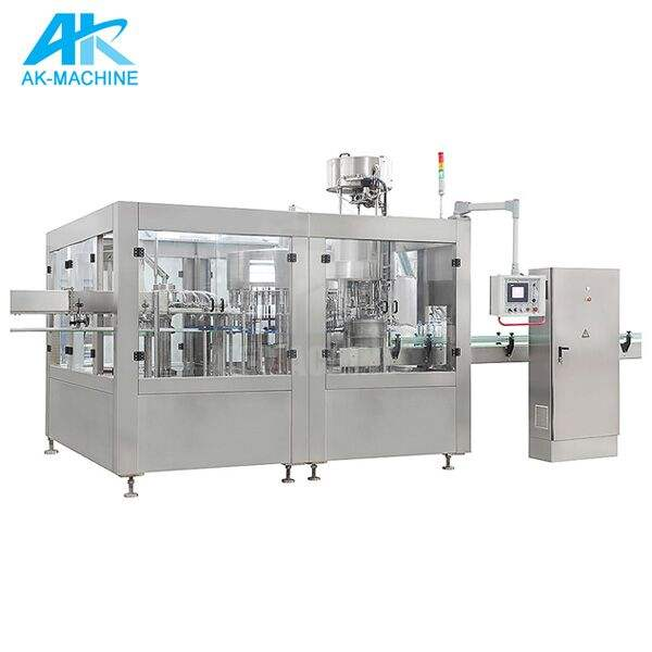 3 in 1 Carbonated Drink Bottling Machine With Carbonated Soft Drink Plant Use DGF32-32-10 Washing Filling Capping Equipment