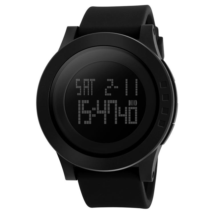 skmei 1142 silicone digital watch 5atm best quality sport watches men