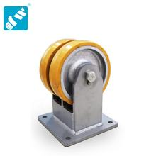 Industrial Cart Trolley Wheels caster fixed for heavy machine