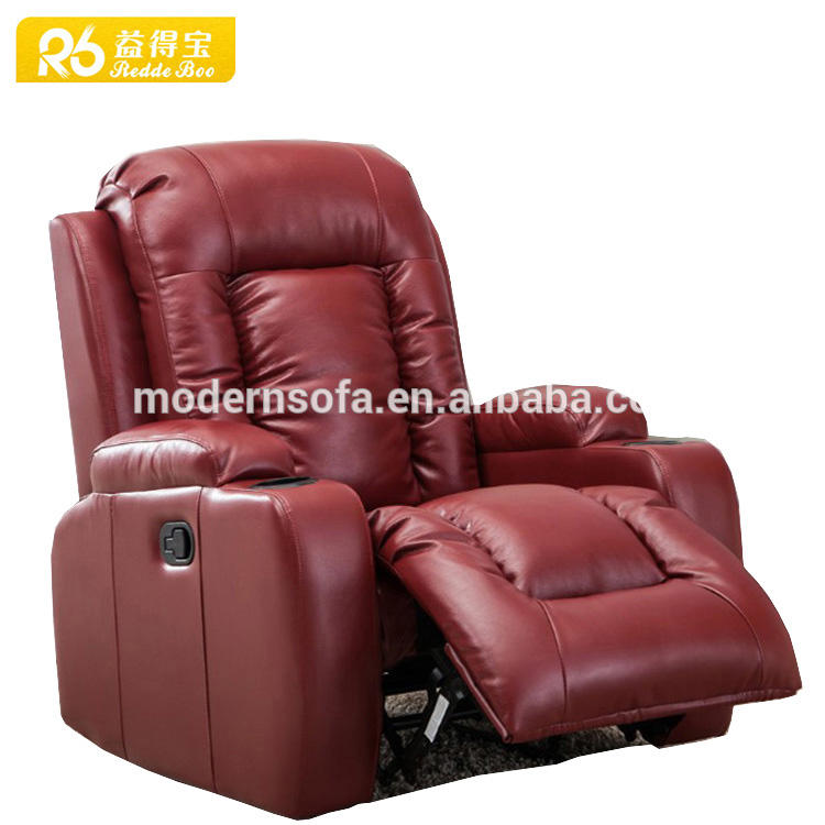 Hot sell modern lazy boy leather recliner sofa with luxury sofa designs