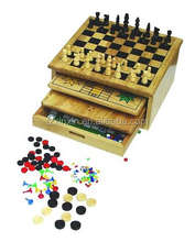 multifunction 5 in 1 game set mini mini table games