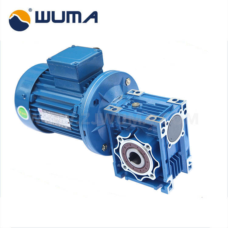 Gear motor 0.55KW speed reducer for packaging machinery