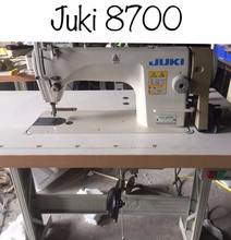 Second hand 80% new Juki8700 lockstitch sewing machine in good condition