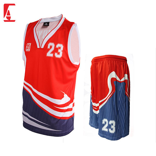 Customized latest fully sublimation basketball jersey design basketball uniform basketball short