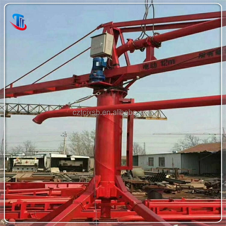High quality taichang brand concrete placing boom for sale
