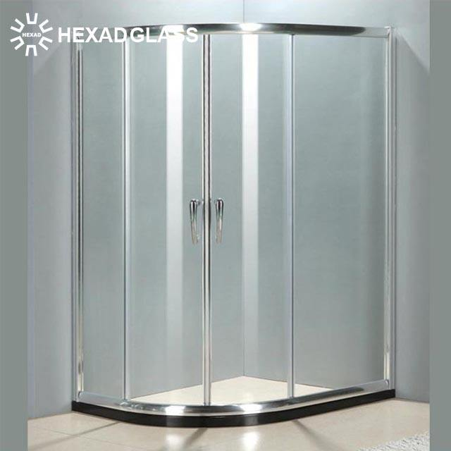 HEXAD 8MM SQUARE SHOWER ROOM