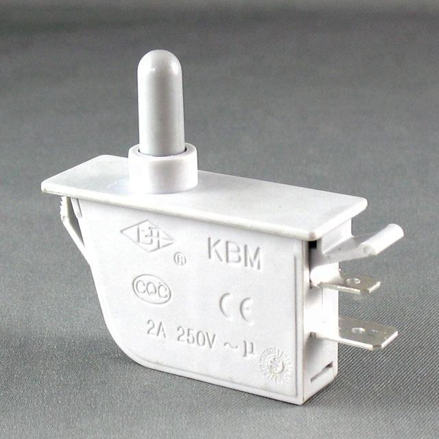 Refrigerator Switch KBM On Sale Free Sample Refrigerator Parts Push Button Refrigerator Door Switch