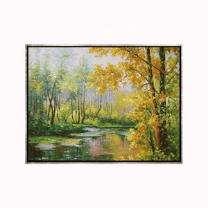 Home Decoration Picture High Quality Handmade Natural Scenery Oil Painting For Bedroom