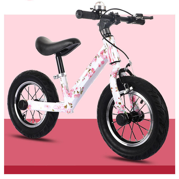 steel frame high quality fat tires kids balance bike no pedal children bicycle baby training push bike practise bicycle