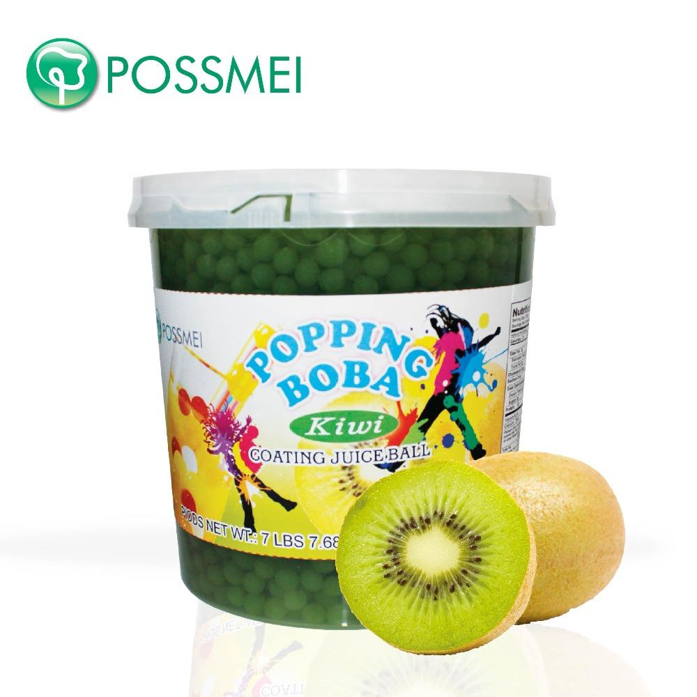 Hot Selling Taiwan Bubble Thee Kiwi <span class=keywords><strong>Popping</strong></span> Boba
