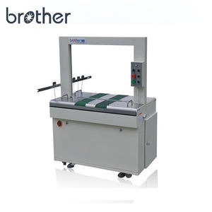 Brother Riem Drive Automatische Carton Binding Strapping Verpakking Strip Machine