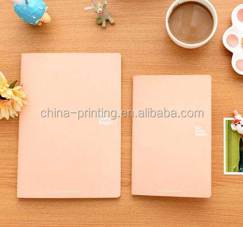Cheap price A4/A5/A6 size soft cover PU leather notebook journal note book