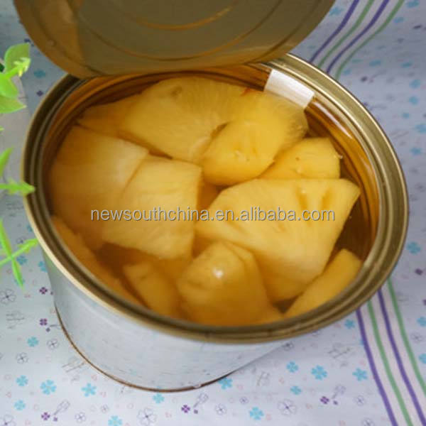 Wholesale canned pineapple slice fruit canned food