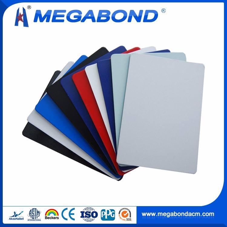 Megabond Yüksek Mukavemetli Alüminyum ACP/<span class=keywords><strong>ACM</strong></span> <span class=keywords><strong>gün</strong></span> beyaz acp görüntüler