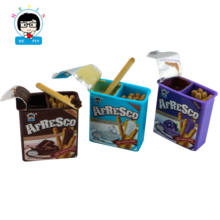 High Quality Chocolate Cream in Cup with Biscuit Confectionery Cookies Sticks Chocolate cookies Biscuits