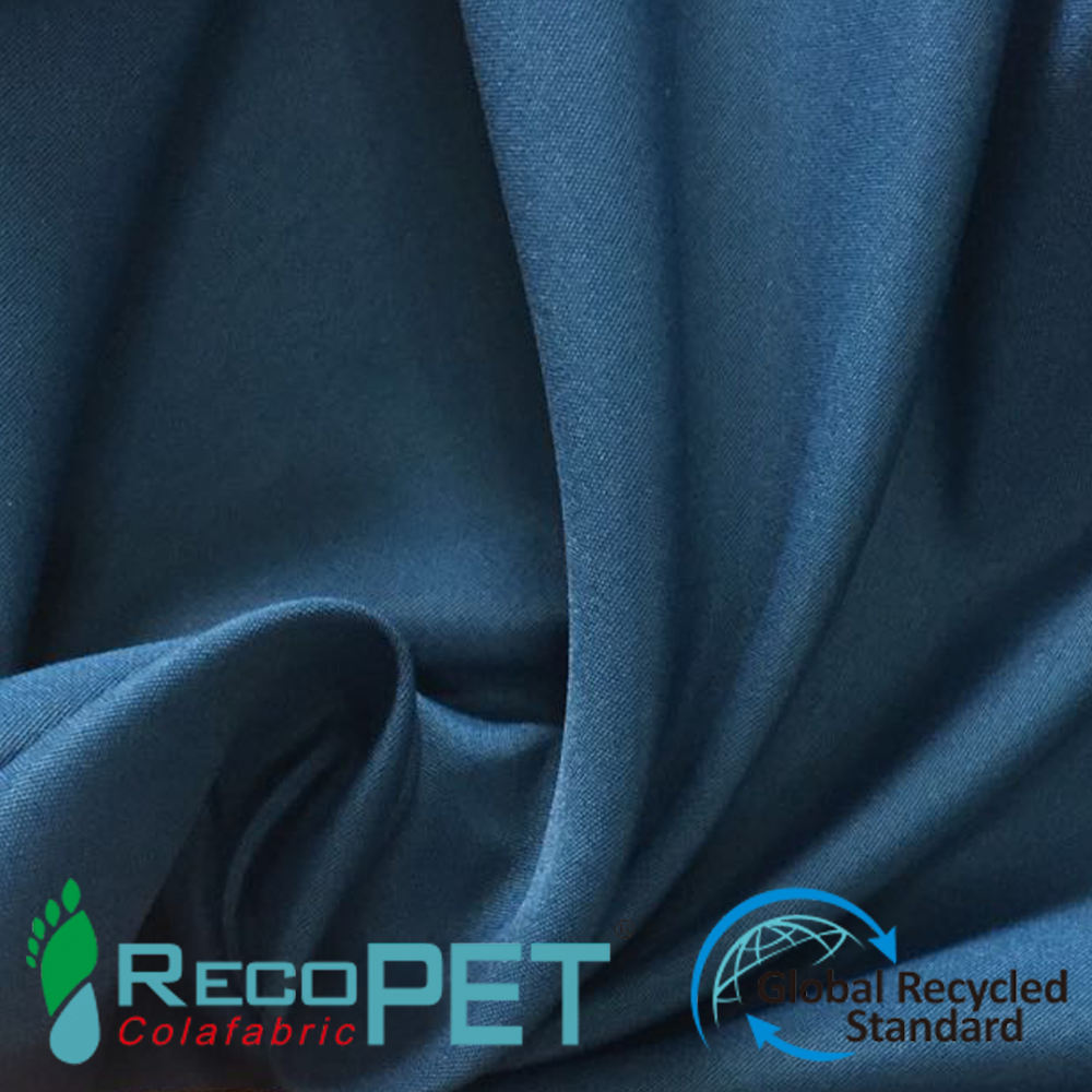 100% Recycled nylon taslon fabric For jacket, bags
