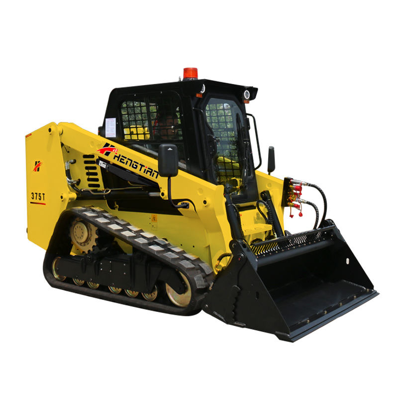 95 hp closed cabin air conditioning backup camera mini skid steer posi track loader