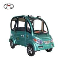 Cheap Four Wheel 2 Seater Auto Mini Electric Car made in China