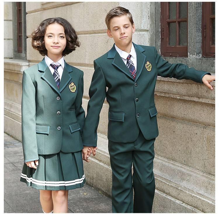 중국 School 교복 ^ ^ Design 와 pictures, (High) 저 (Quality International School Uniform