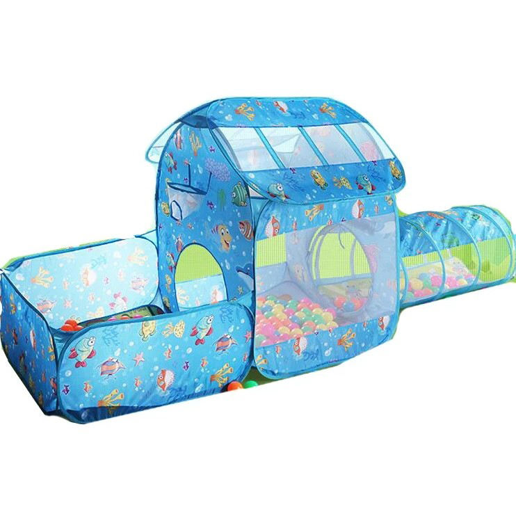 Ocen Pool Kids Play tunnel Baby Pop Up Tent