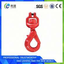 Rigging Hardware G80 Swivel Eye Safety Spring Hook