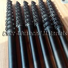 Strong carbon fiber telescopic pole/water fed pole for window cleaning