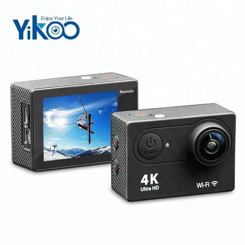 2.0 inch eken h9r 4k wifi 30m waterproof action camera with remote control