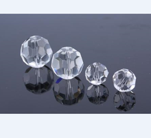 multi sizes jewelry crystal faceted cutting beads for chandelier
