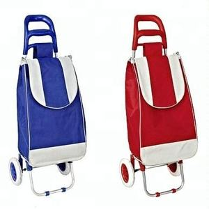 Folding shopping cart trolley bag