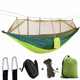 Outdoor mosquito multi-color net nylon portable camping hammock for some relax