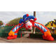 Halloween Inflatable Clown Arch for Playground Door Decoration