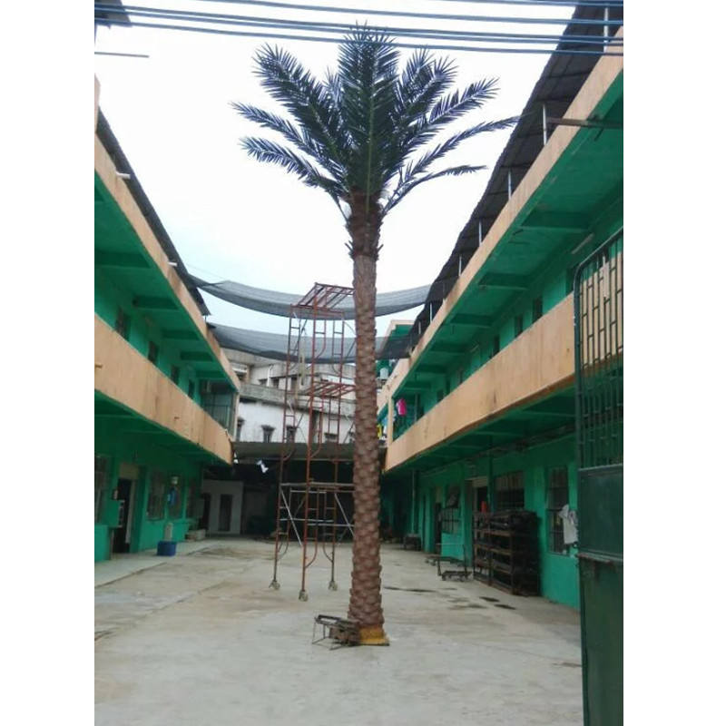 outdoor landscaping best quality Artificial middle east seaweed tree tissue culture date palm