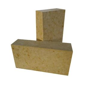 Resistance to High temperature brick shape steel ladle refractory bricks