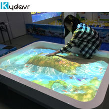 Magic interactive game AR interactive sand table snadbox for kids