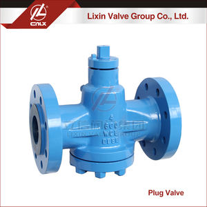 High pressure class 150 class1500 pressure balance lubricated plug valve for oil gas