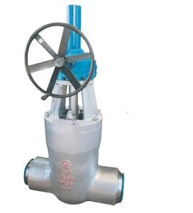 High Temperature and High Pressure Butt Welding Gate Valve