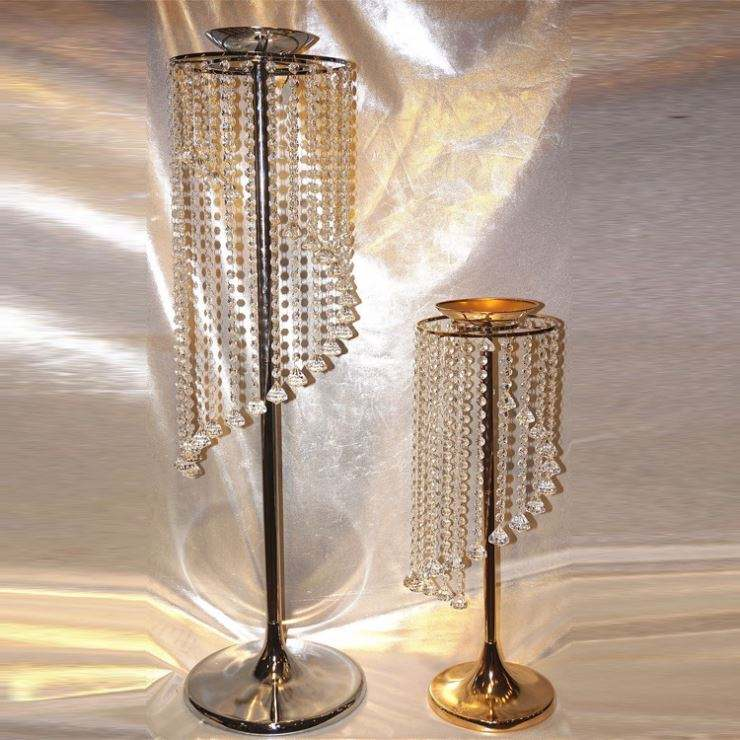 Multifunctional Wedding Centerpieces Crystals Sale With Great Price