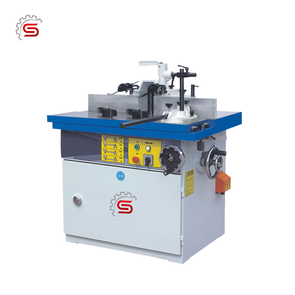 Woodworking tilting Milling Machine MXQ5117H wood spindle moulder with sliding table