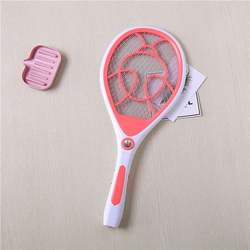 Eco Friendly Rechargeable Household Electronic Hitting Electric Mosquito Swatter with LED