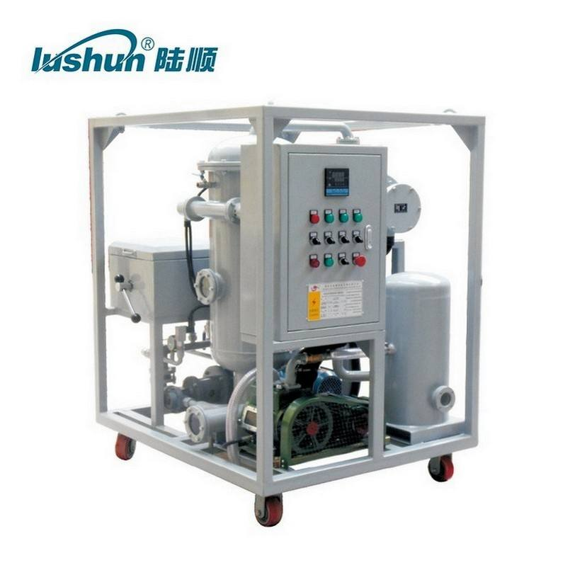 High Preciese Filter China Patented Waste Lube Oil Purifier With Plc Control Machine For Power Generation