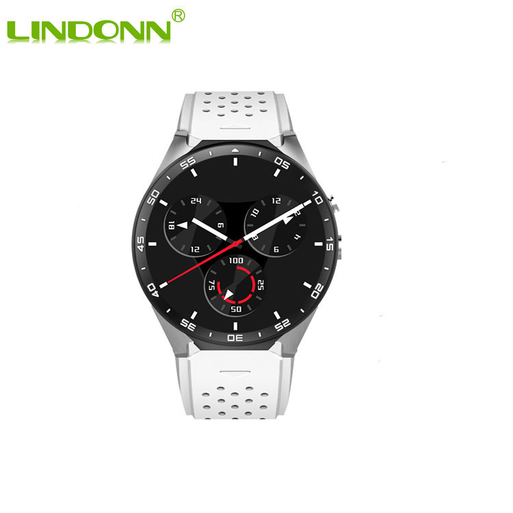 Luxury Wifi 4G 3G Smart Watch Android dual sim Waterproof IP67 MTK6580 Quad core Smartwatch Mobile Phone