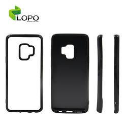Sublimation Case For Samsung S9 transparent 2D Soft Rubber Blank TPU Phone Case