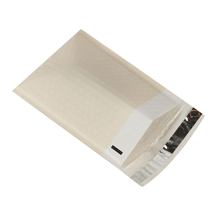 Custom Printed Express Delivery Mail Bag White Padded Poly Mailers Bedrukte Envelopen Packing Plastic Bags Bubble Pink