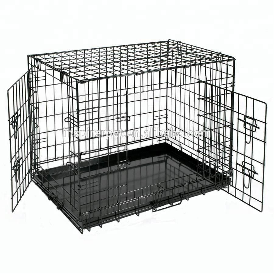 The Black Metal Kennel Wholesale wire dog cage