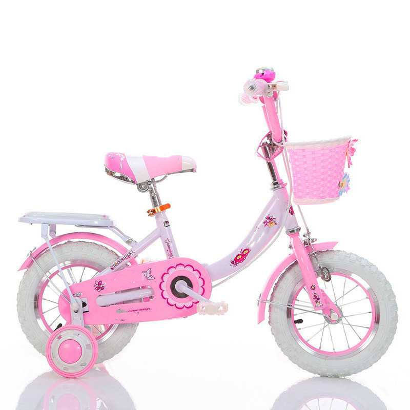 2019 16 inch cheap child bikes for girls/pink color white tire child bicycle/new bike child surprise gift