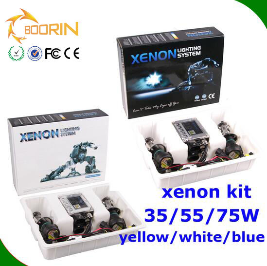 2017 AC/DC Bi Xenon Slim Ballast & Colorful HID Light & Canbus Driver 35W 55W h4 slim canbus hid xenon ballast in car auto parts