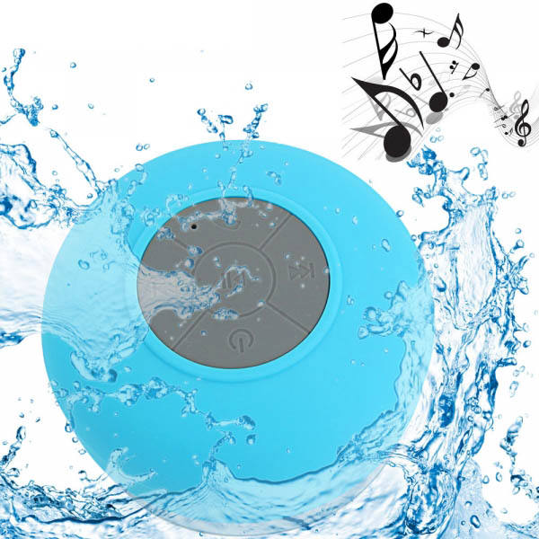 wireless bluetooths portable IPX4 waterproof mini shower speaker