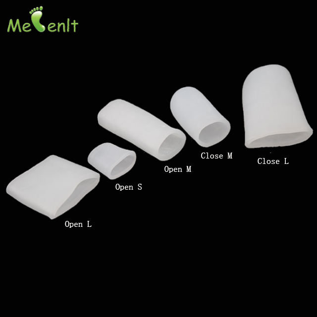 Silicone Toe Cap Protector and Finger Sleeves