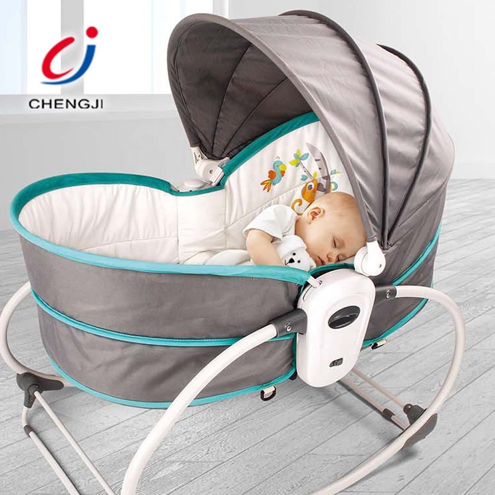 <span class=keywords><strong>5</strong></span> In 1 Opvouwbare Bed Wieg Slapen Cradle Swing Draagbare Babymandewieg