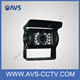 CCD Mini CCTV thermal Camera Car With Infrared Osd